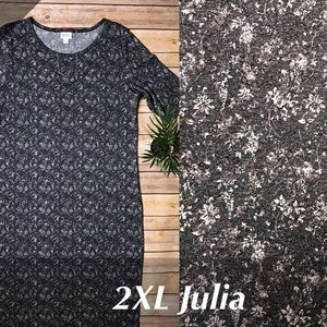 LuLaRoe Julia Dress XXL